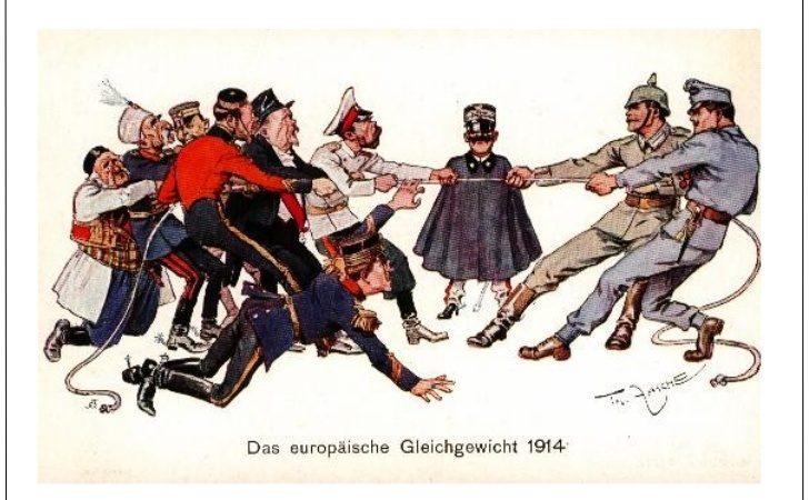 "Las causas de la Gran Guerra (1914-1918) ""rivalidades que matan"""