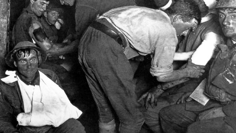 El equilibrio de la mortandad. Retos y avances de la medicina frente a la I y II Guerra Mundial