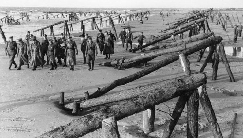 El campo de batalla de la playa de Utah