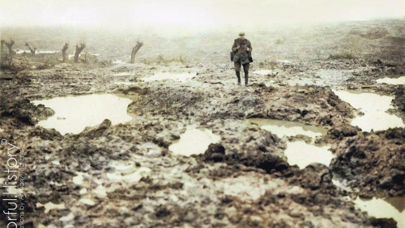 La Batalla de Passchendaele. «Un infierno de barro»