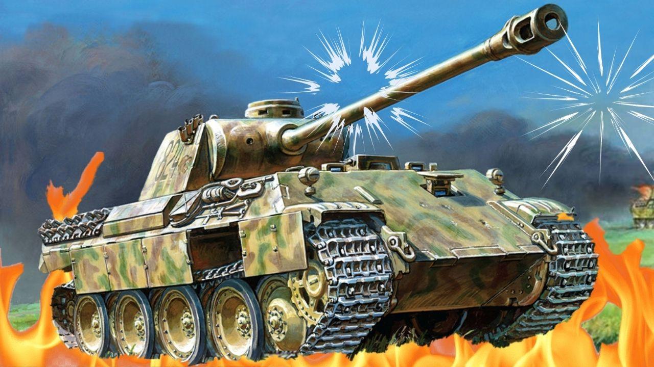 ¿Fue el Panther el primer MBT?