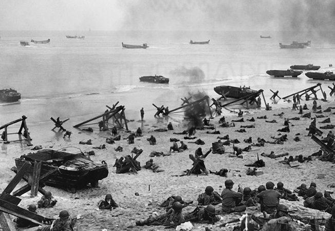 El campo de batalla de la playa de «Omaha»
