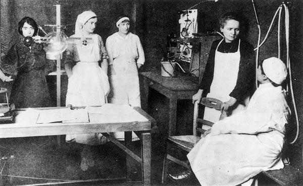 """""""Les Petites Curie"""" el invento que ganó la guerra y reinventó la medicina."""