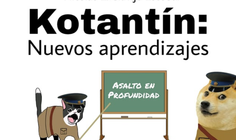 Kotantín: Nuevos aprendizajes